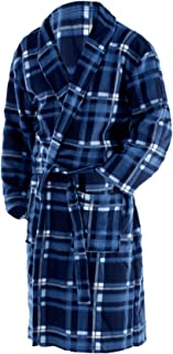 Octave® Mens Polar Fleece Winter Robe/Dressing Gown Supersoft, Warm & Cosy