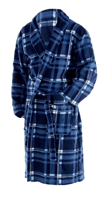 Octave® Mens Polar Fleece Winter Robe/Dressing Gown Supersoft, Warm & Cosy OCMN0814