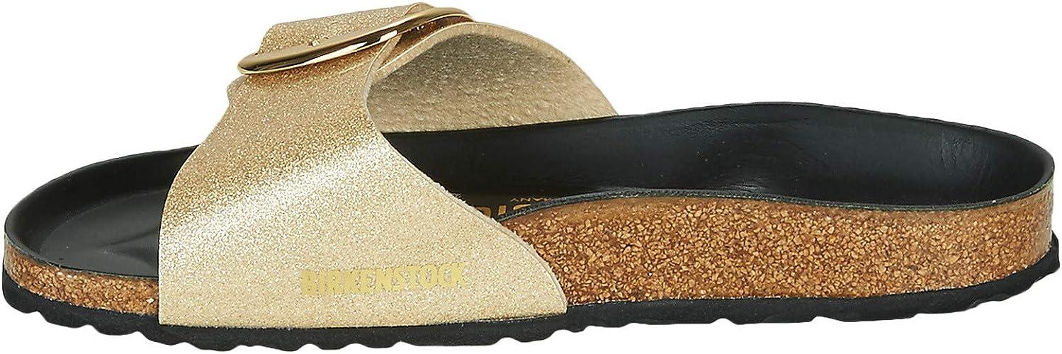 gold sparkly birkenstocks