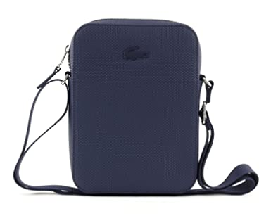 9a756759eb LACOSTE Chantaco Vertical Camera Bag Peacoat: Amazon.fr: Chaussures ...