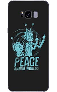 on sale 704e6 1a0c2 Amazon.com: New Mort and Rick Style Protective Transparent Soft ...