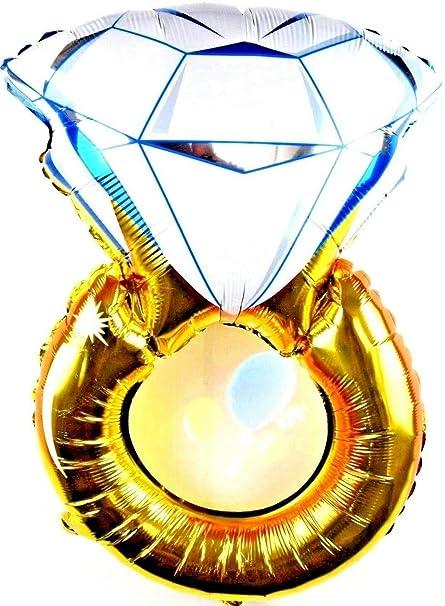 Bundles 3X R21F7 XL Decoración Boda Compromiso Oro Anillo ...