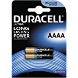 Batterie Duracell Ultra Typ AAAA 2er Blister, Alkaline, 1,5V