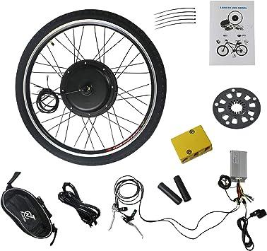 LLY - Kit de conversión de Motor de Bicicleta eléctrico de 25 ...