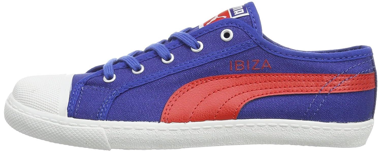 6b855f0980b8a Puma jr Ibiza 356495-Chaussures Unisexe Enfant - Bleu - Blau (Monaco  Blue-High Risk Red 02)