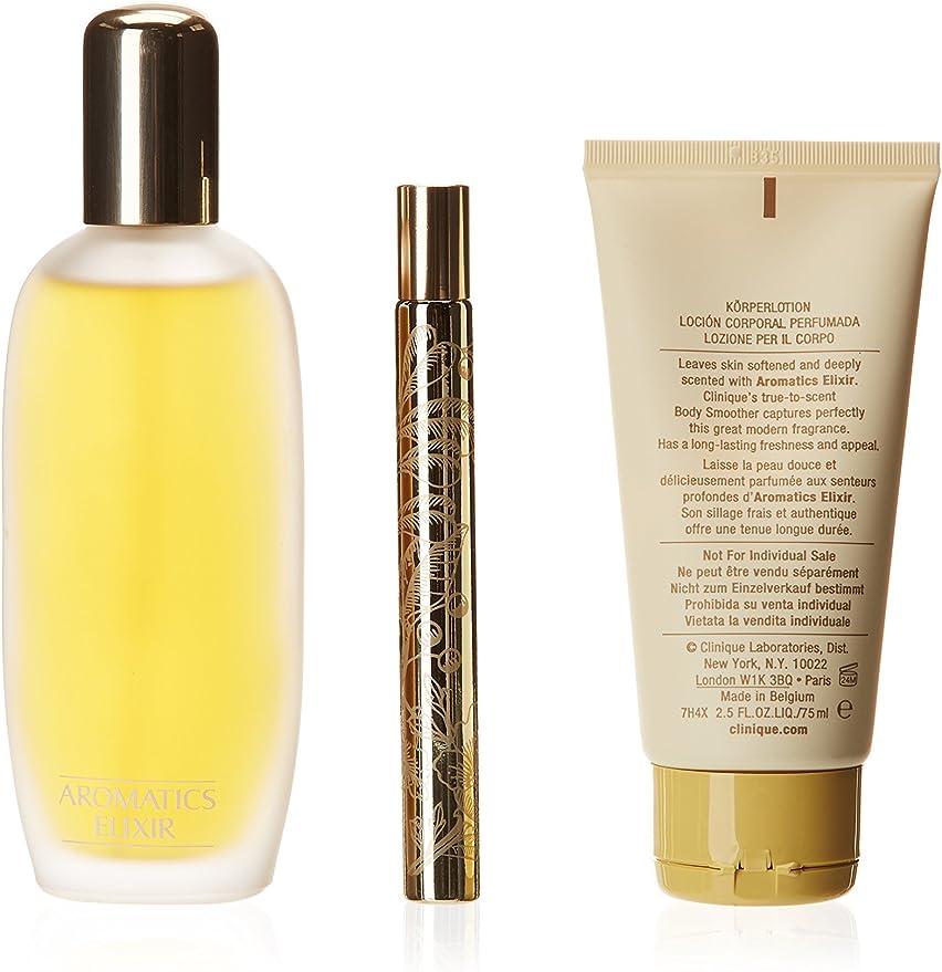 Clinique Perfume Mujer 3 Piezas Aromatics Elixir: Amazon.es: Belleza