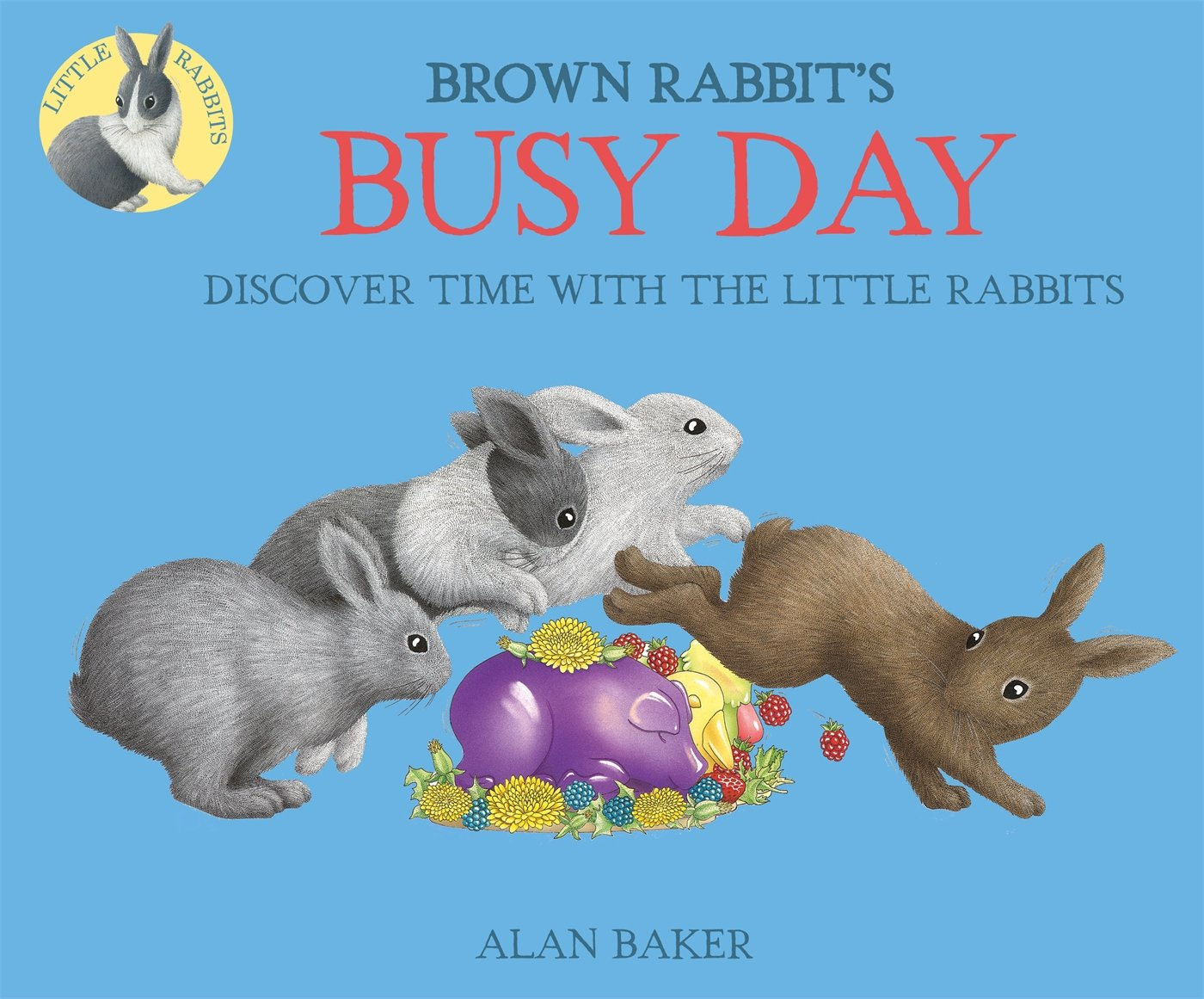 Brown Rabbit's Busy Day (Little Rabbit Books) Text fb2 book