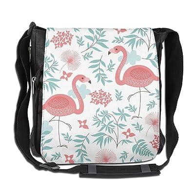 Flower Flamingo Fashion Print Diagonal Single Shoulder Bag