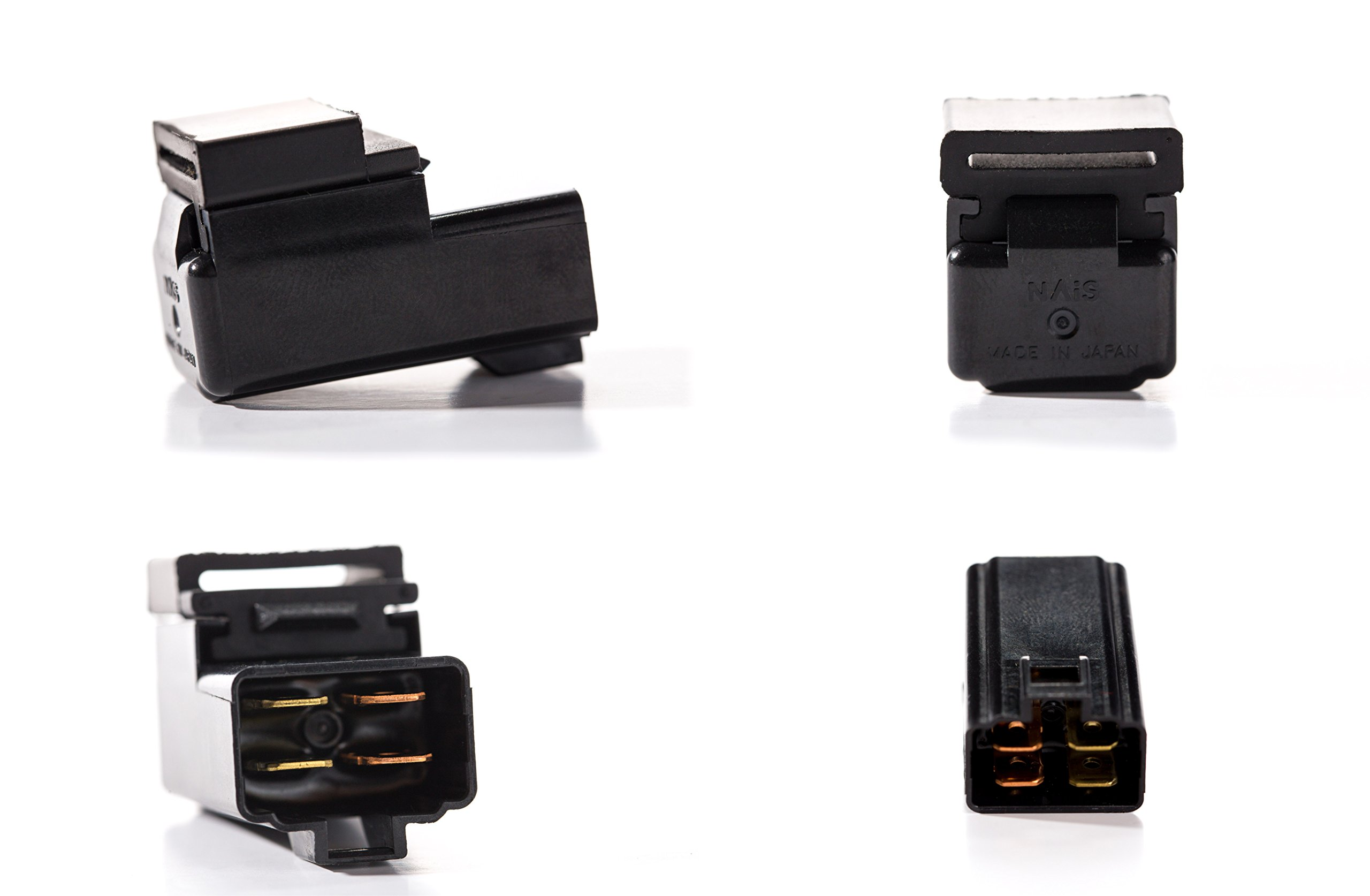 Direct Replacement Relay for Yamaha Part 29U-81950-93-00 - Made in Japan Sealed Four Terminal
