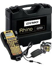DYMO 5200 Hard Case Kit - Etiquetas para impresoras, negro