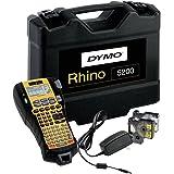 Dymo Rhino 5200 Étiqueteuse Professionnelle Électronique Portable Clavier ABC - Kit avec Malette de Transport