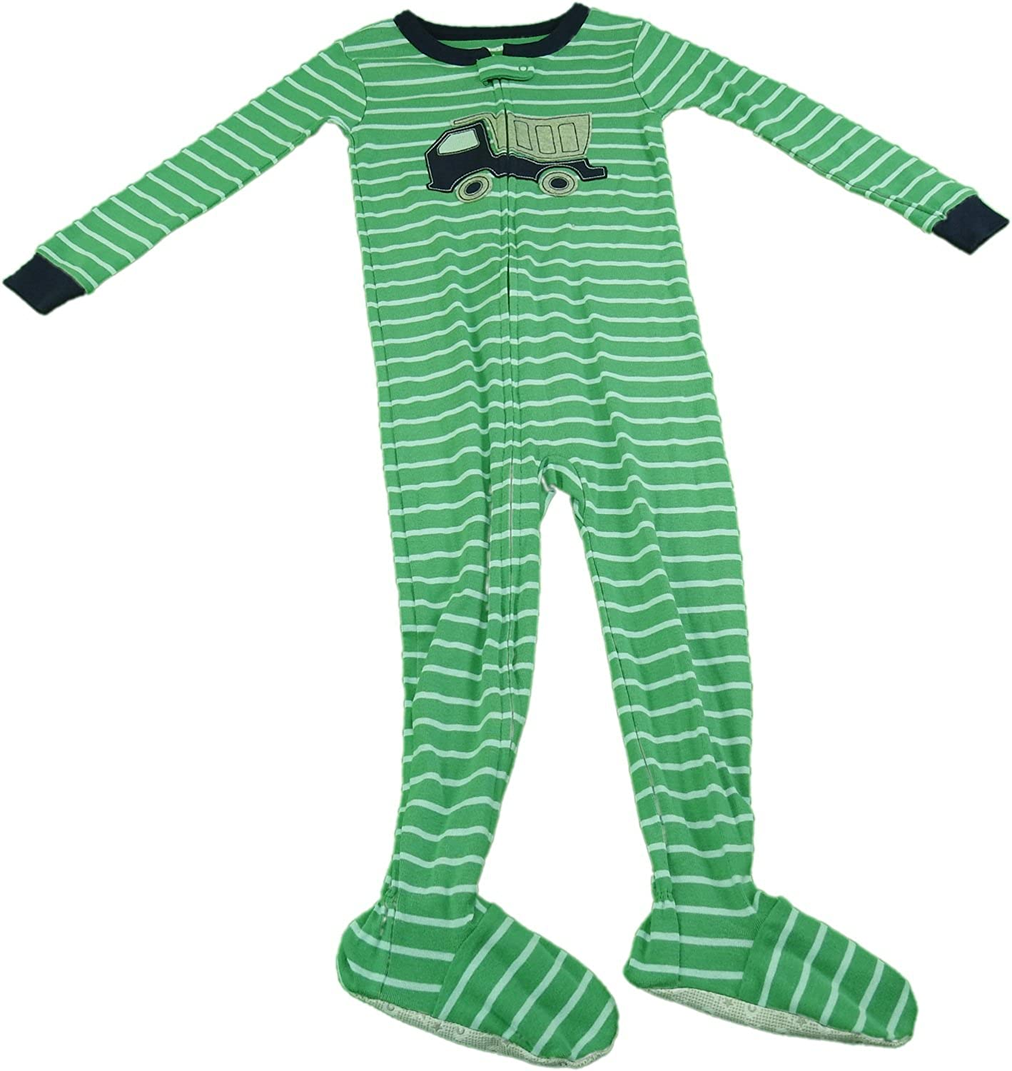 0efbc2d31ae5 Amazon.com  Carter s Baby Boy Full Front Zip Footed Bodysuit Blue ...