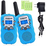 Funkprofi Walkie Talkies for Kids 22 Channels Long Range Rechargeable Walkie Talkies with Battery and Charger, Gift for…