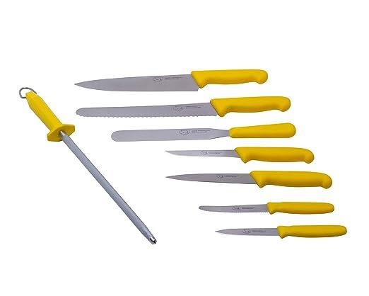 Compra The Smithfield Samprene - Juego de cuchillos de chef ...