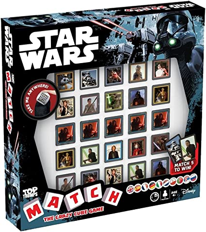 Top Trumps Juego de Mesa de Star Wars, Multicolor (Winning Moves ...