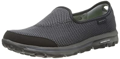 439f63fde484f Skechers Womens Go Walk Rival Athletic and Outdoor Sandals 13755 Black/Grey  4 UK,