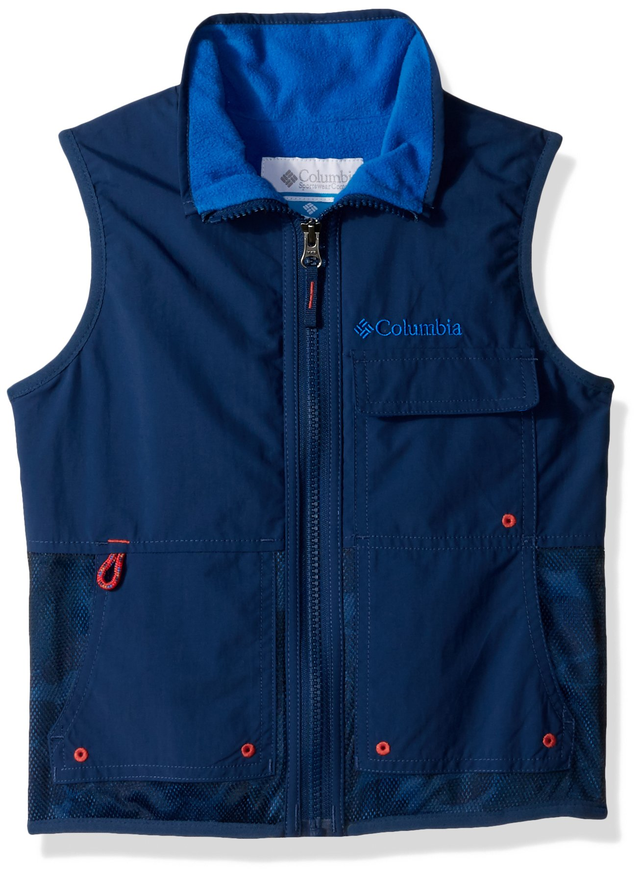 Columbia Boys' Big Next Destination B Lined Vest, Carbon, X-Small by Columbia