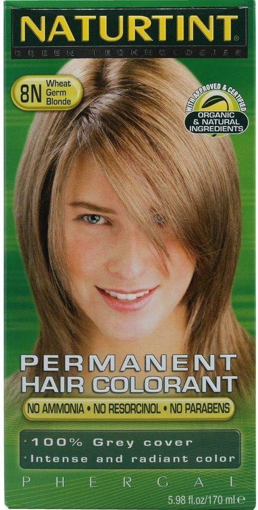 Naturtint Color permanente para el cabello 8N rubio germen de trigo - 165ml