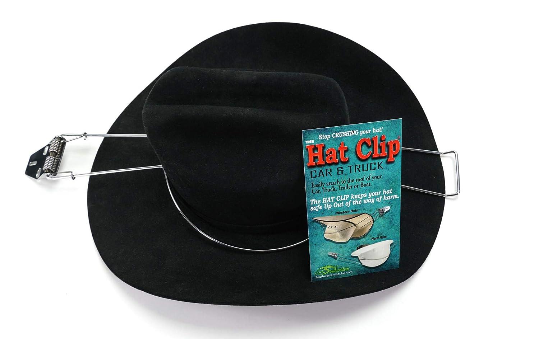 Southwestern Equine Metal Hat Clip for Trucks Cars SUV Sturdy Hat Holder Flat