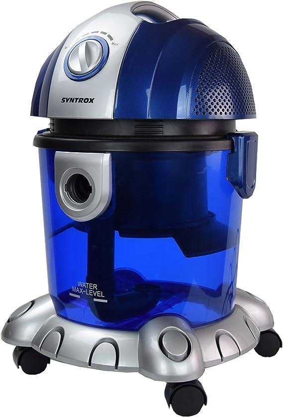 Syntrox aspirapolvere con filtro acqua Nettuno bagnato e Aspiratore a secco