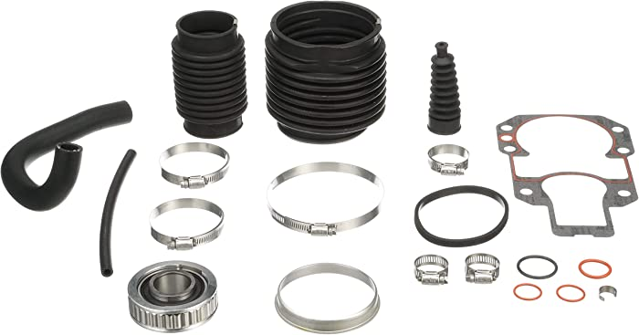 Quicksilver Stern Drive Transom Seal Repair Kit 803099T1 - for MerCruiser Alpha One, Gen II Stern Drives with Exhaust Bellows