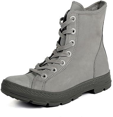 f5cc562a81a5a8 Converse Chuck Taylor Hi Top Outsider Boots in Grey