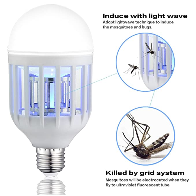 Just 2-pack T8 Ultra Violet Tube Bulb For Uv Electric Insect Fly Killer Bug Zapper Light Lamp 10w 15w Available To Adopt Advanced Technology Lights & Lighting Light Bulbs