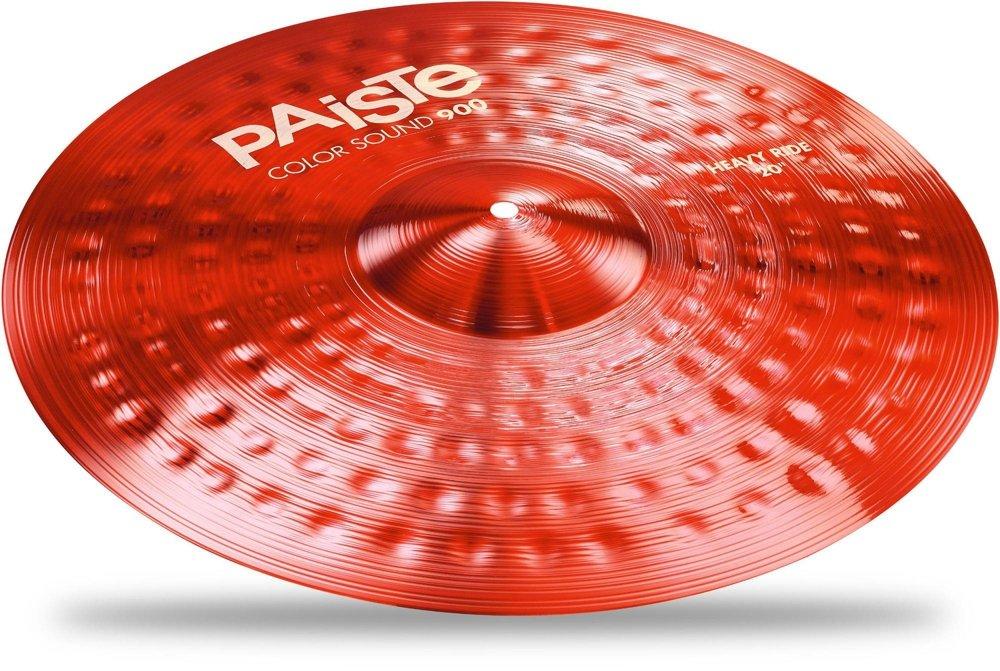 PAiSTE (パイステ) Color Sound 900 Series Heavy Ride 20″ RED ヘビーライドシンバル 20インチ   B06Y6MZFLL