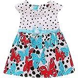 c8dbdd66fe3d Kobay Cute Bow Tie Baby Girl Princess Patchwork Tulle Tutu Party ...