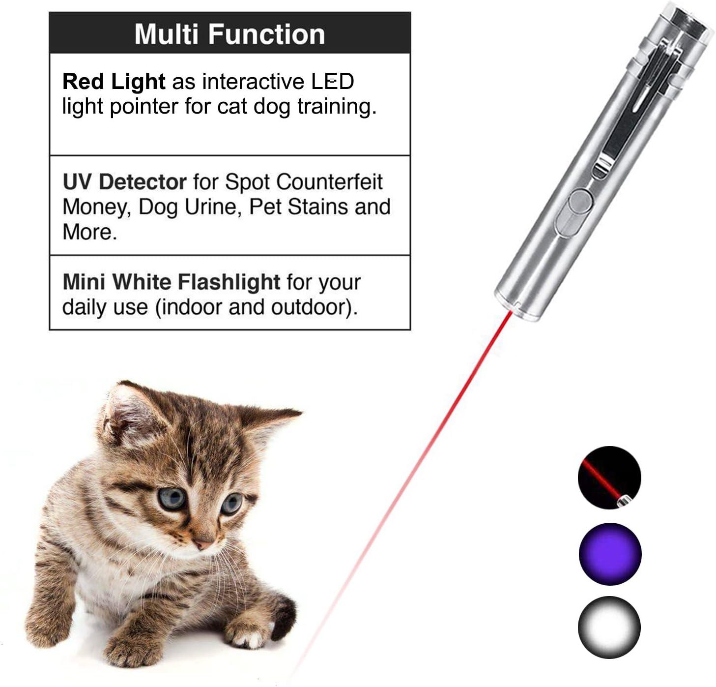 YAMI Juguetes para Gatos Cat Juguetes interactivos para Gatos 3 en 1 Juguetes Divertidos para Gatos con USB cargable: Amazon.es: Productos para mascotas