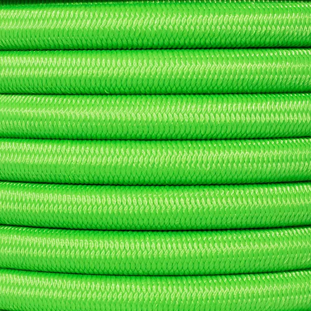 West Coast Paracord Bungee Elastic Nylon Shock Cord (1/2 Inch x 50 Feet, Neon Green) by West Coast Paracord