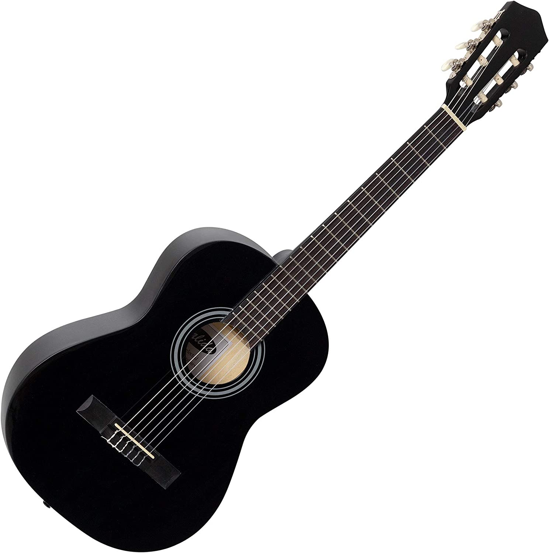 Trendy 3//4 Kinder Konzertgitarre mit optimaler Bespielbarkeit für kleine Hände