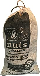 D's Nuts In Shell Ballpark Style Peanuts, Unsalted