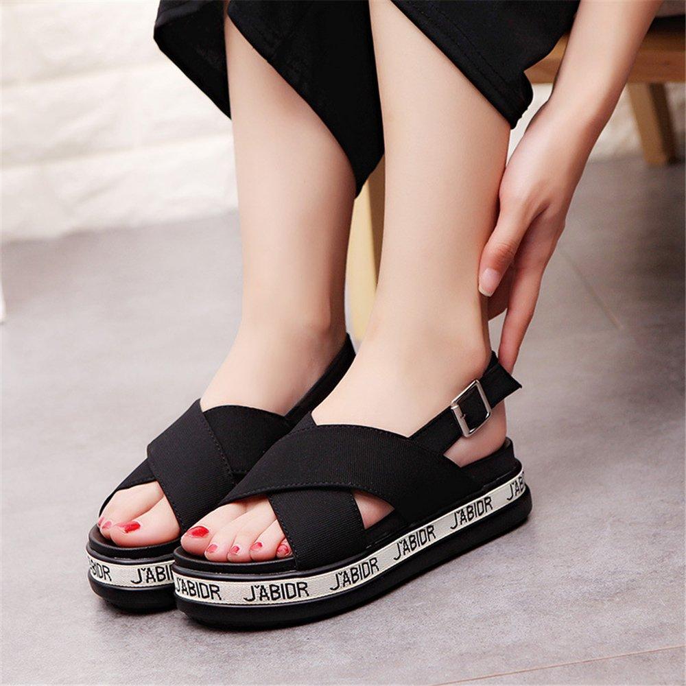 Smart.A Ladys Casual Platform Slipper Anti-Slip Walk Sandals