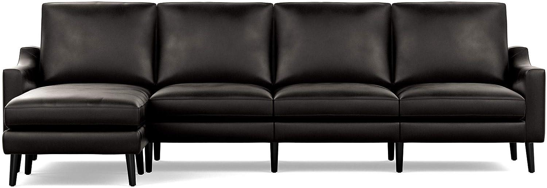 Amazon.com: Burrow NLSC-SL-4-LO-BW Living Room Furniture ...
