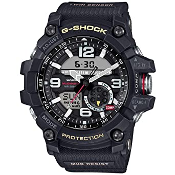 a9f61f9c9e7 Amazon.com  Casio G-Shock Mudmaster Twin Sensor Mens  Sports Watch ...