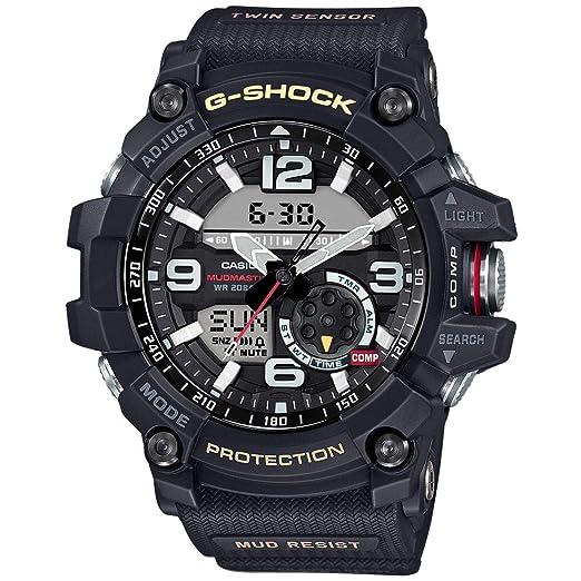 Amazon.com  Casio G-Shock Mudmaster Twin Sensor Mens  Sports Watch ... 0cb7d19d3af