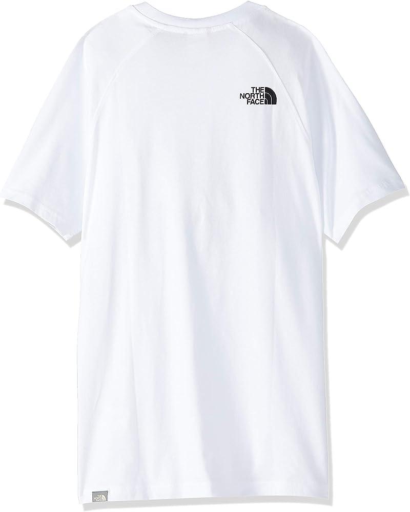 The North Face Hombre Camiseta Rag Red Box, Blanco, X-Small: Amazon.es: Ropa y accesorios