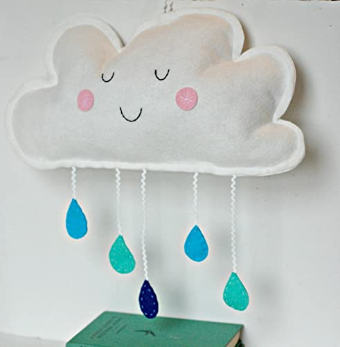 Amazoncom Cloud Wall Hanging Nursery Decor Kids Room Decoration - Decor for kids room