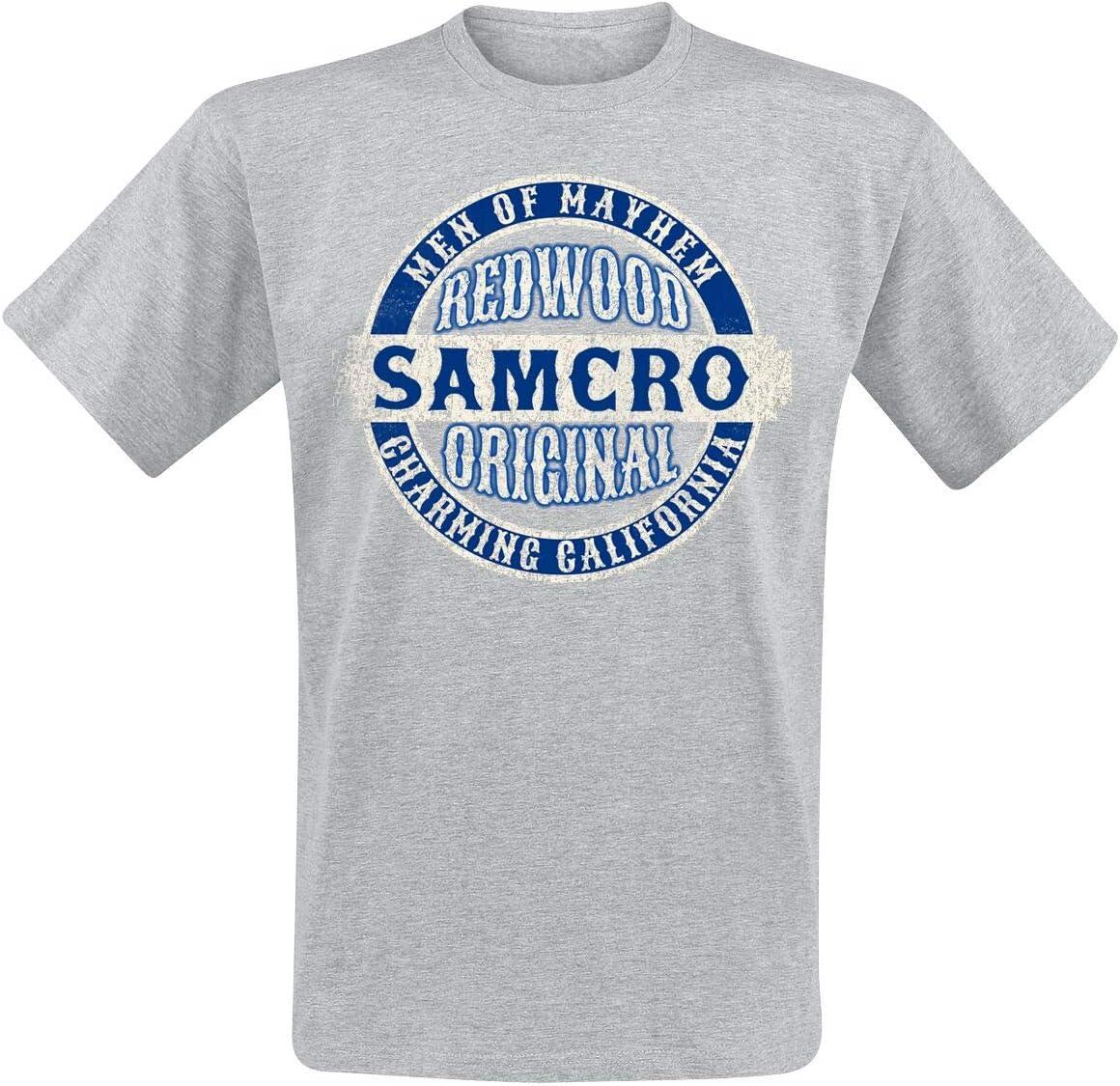 Sons of Anarchy Blue Original heren T-shirt grijs gemêleerd