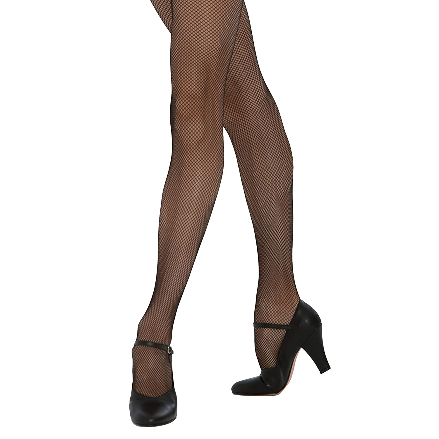 1 Pair Silky Big Girls Dance Fishnet Tights
