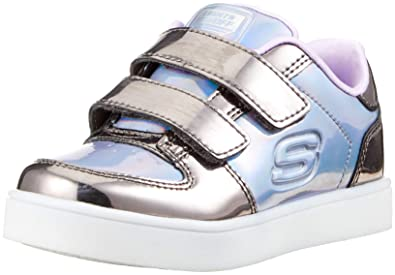 Skechers Mädchen Energy Lights lil'metallics Sneaker: Amazon