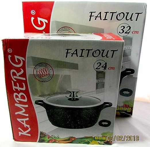 Lote de olla (24/32 cm kamberg cocinas: Amazon.es: Hogar
