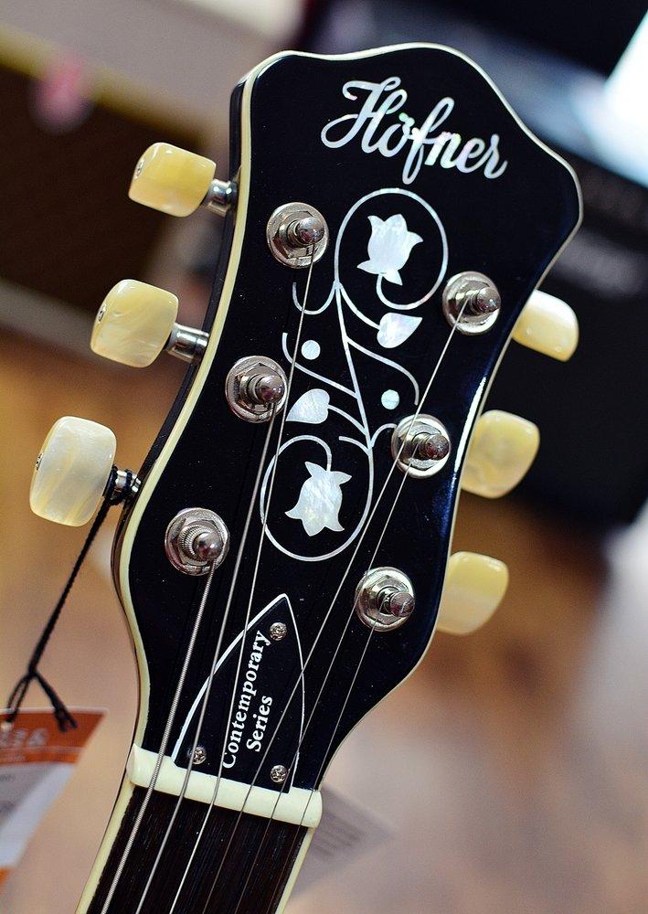 Höfner verythin HCT de VTH de D de TBK semi acústica Guitarra eléctrica 2 x Humbucker transb Laca: Amazon.es: Instrumentos musicales