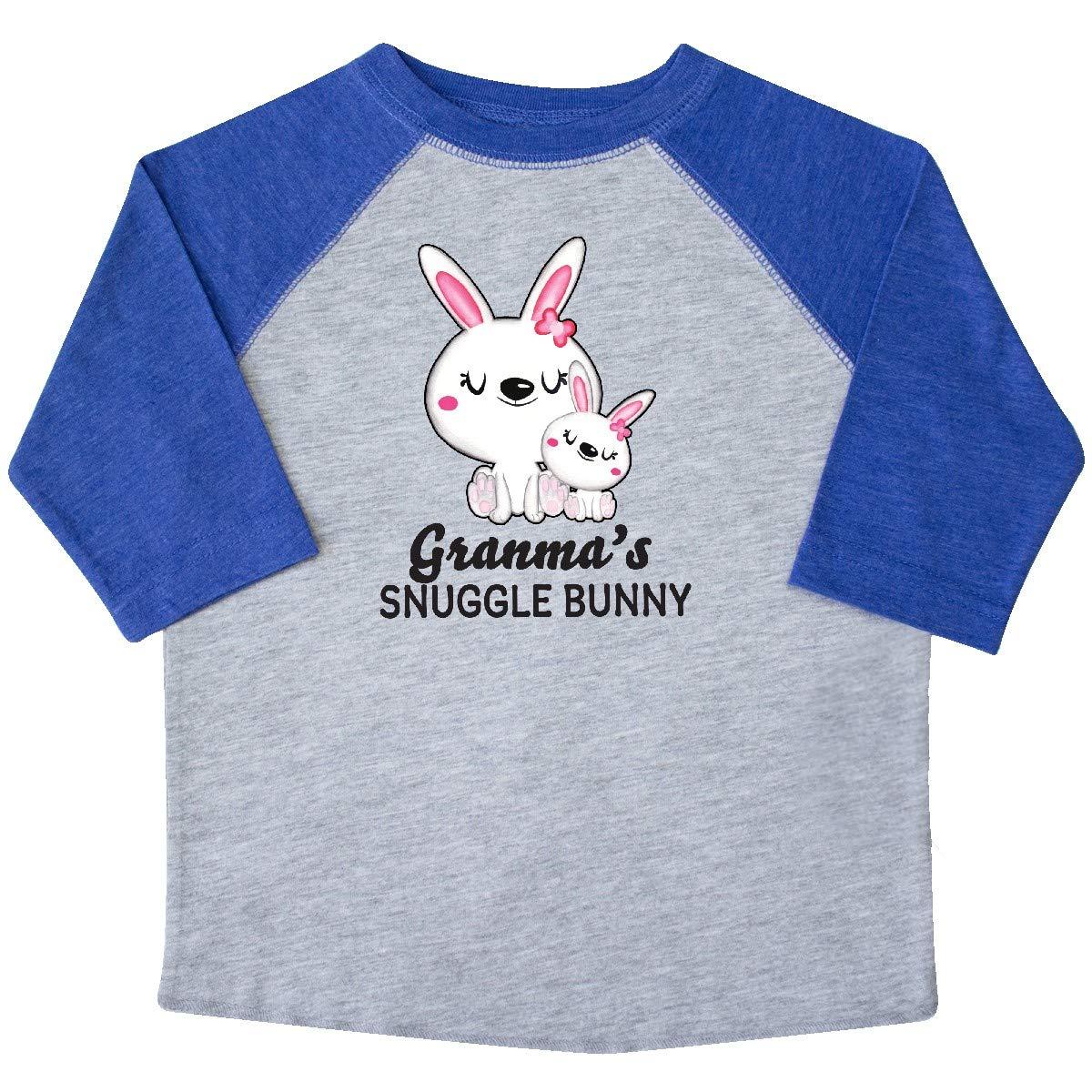 inktastic Granmas Snuggle Bunny Easter Toddler T-Shirt