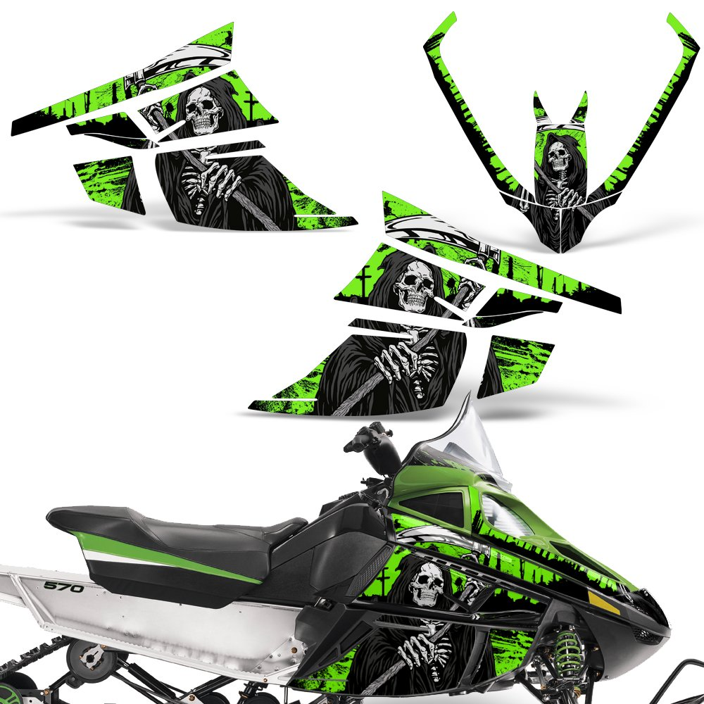 Amazoncom Arctic Cat F Series Z1 Decal Graphic Kit Sled Snowmobile