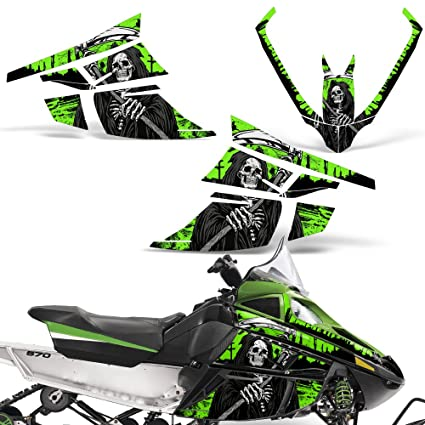 Amazon com: Arctic Cat F Series Z1 Decal Graphic Kit Sled