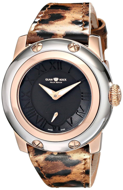 [グラムロック]Glam Rock 腕時計 Miami Analog Display Swiss Quartz MultiColor Watch GR40029 レディース [並行輸入品] B0165AS0RI