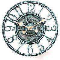 lilyshome 30,48cm polirresina peltre Reloj de pared interior