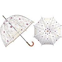 ARDITEX ZK50345 Paraguas de EVA Transparente de ZASKA-Llama